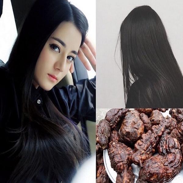 Cao khô hà thủ ô trị tóc bạc sớm và làm đẹp da