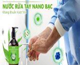 Nước rửa tay khô Nano bạc được nhiều người tin dùng