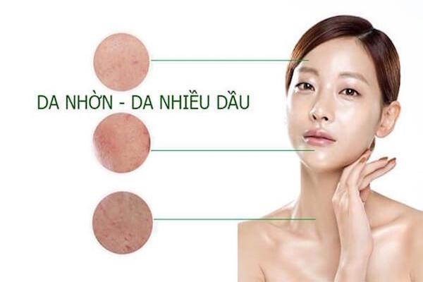 Chăm sóc da mụn cần hiểu rõ về da nhờn
