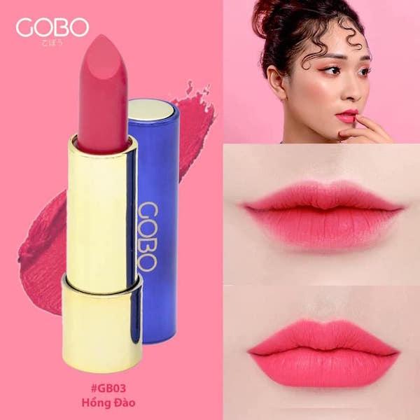 Son màu hồng đào GOBO - Ngọt ngào, dịu nhẹ, thục nữ